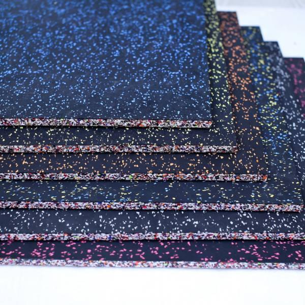 Ultimate Flooring Rubber Gym Tile