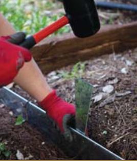 Garden Steel edging