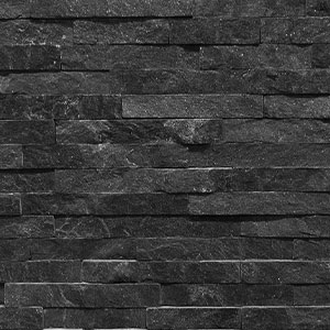 Black Quartz Wall Cladding